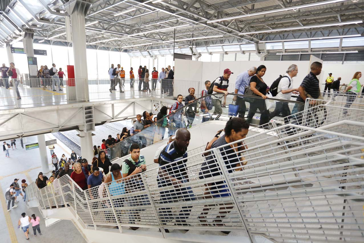 Governo do Estado e SuperVia entregam a última estação olímpica do sistema ferroviário