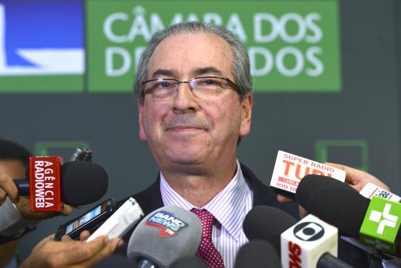 Cunha diz que recorrerá de liminar que manda analisar impeachment de Temer