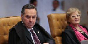 Barroso vota a favor da restrição ao foro privilegiado; julgamento é suspenso