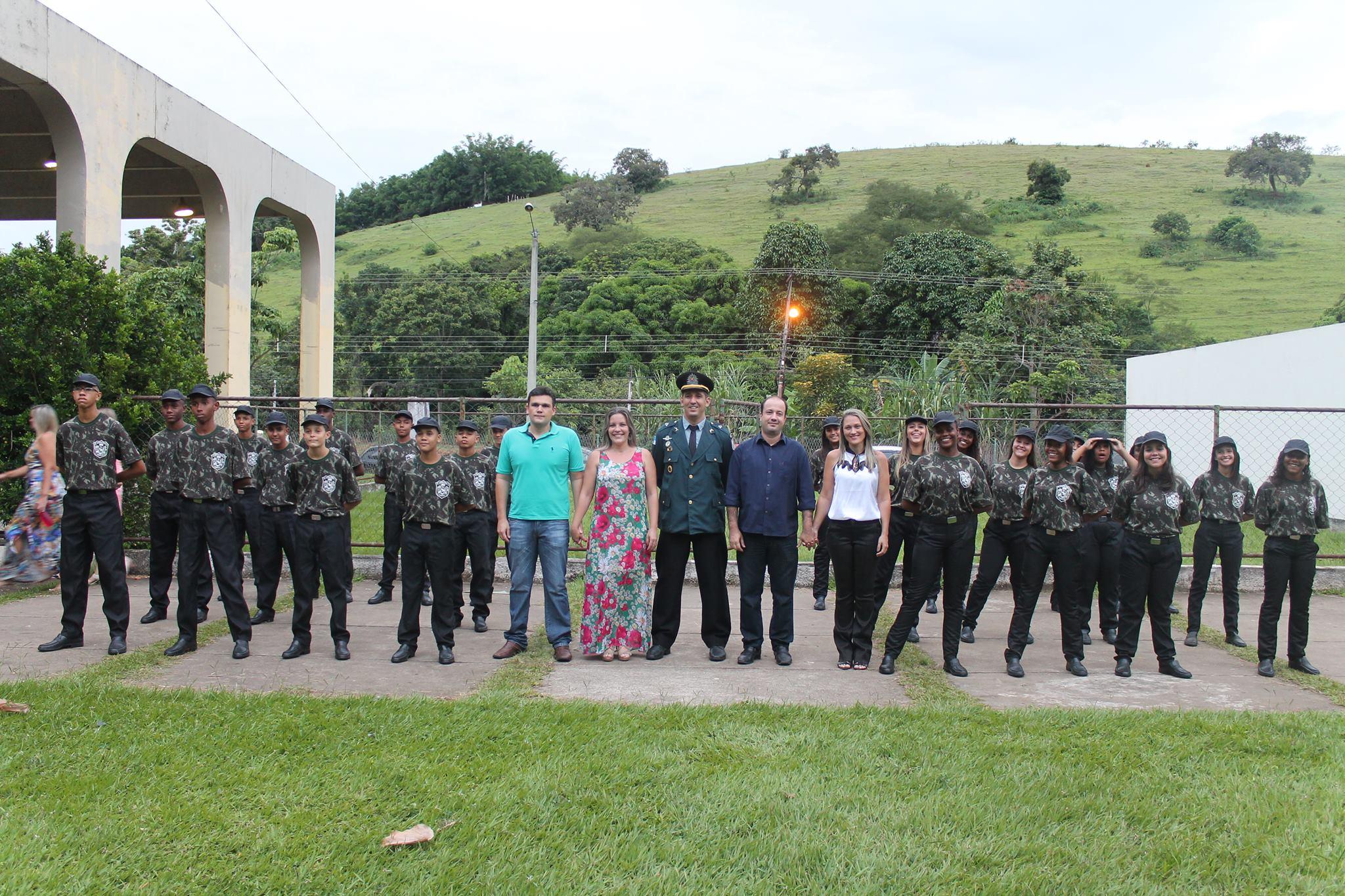Prefeitura de Macuco realiza solenidade de formatura da 10ª turma da Guarda Mirim Ambiental
