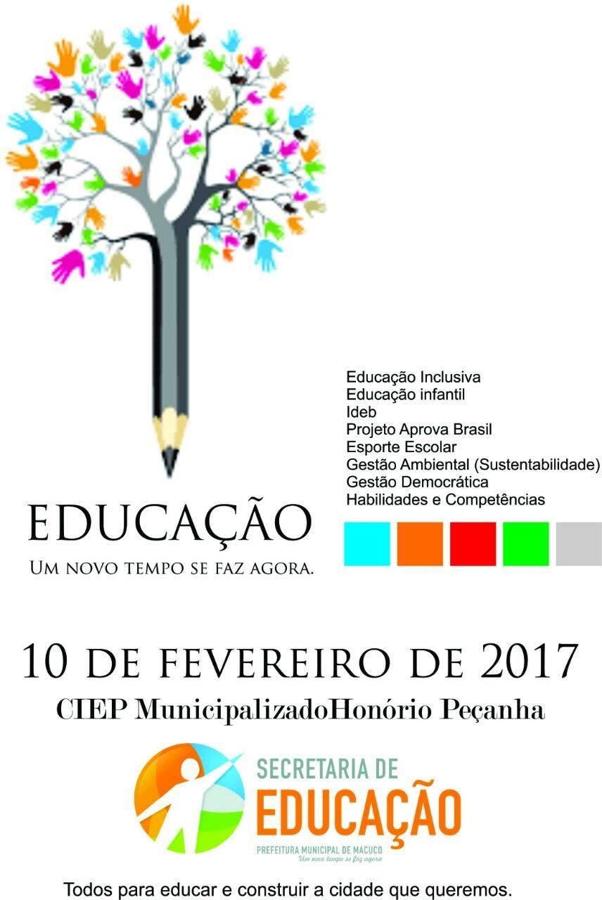 Secretaria de educação de Macuco realiza encontro de profissionais da área para discutir os rumos da educação no país