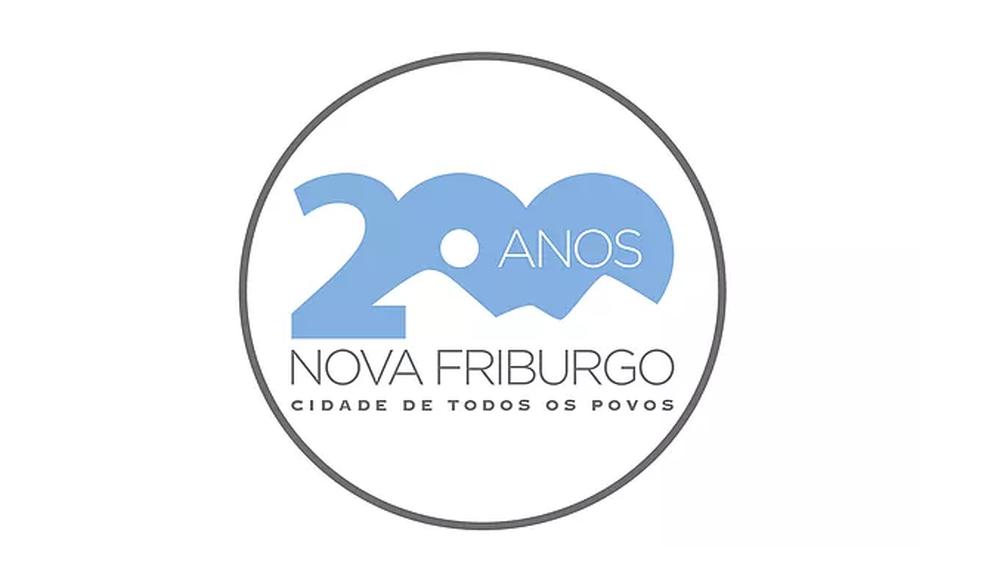 Montanhas de Nova Friburgo, RJ, são destaque em logomarca para os 200 anos da cidade