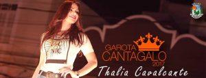 THALIA CAVALCANTE ELEITA GAROTA CANTAGALO 2017