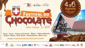 Festival do Chocolate será realizado no próximo fim de semana em Nova Friburgo
