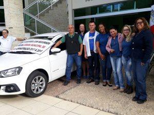A Câmara Municipal de Macuco adquiriu veículo 0Km com recursos próprio
