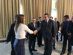 PRESIDENTE DO TJRJ MILTON FERNANDES RECEBE PREFEITOS, VEREADORES E ADVOGADOS NO RIO