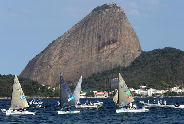 Presidente da CBVela e atletas elogiam evento-teste na Baía de Guanabara