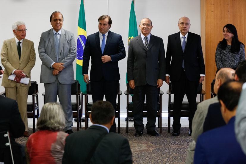 """Pezão: """"Quando o Rio vai bem, o Brasil vai bem"""""""