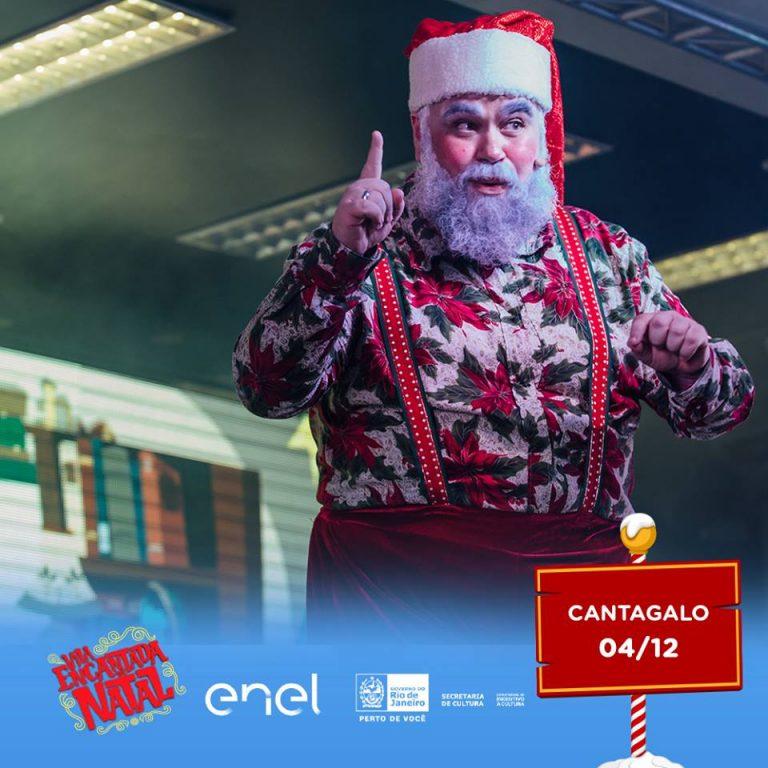 Vila Encantada de Natal marca abertura do Natal em Cantagalo com muita Emoção e Muitos Visitantes