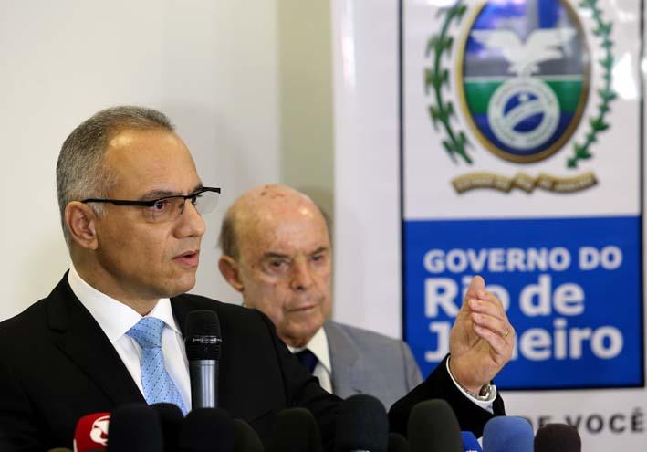 Novo secretário de Segurança toma posse no Palácio Guanabara