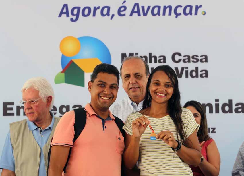 Estado entrega 1.420 unidades habitacionais em São Gonçalo e Bom Jardim
