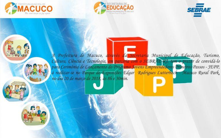 Sebrae/RJ lançará programa de Educação Empreendedora nas escolas em Macuco