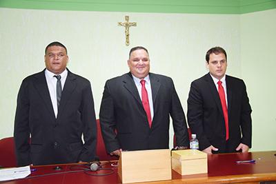 Câmara Municipal de Macuco compõe Mesa Diretora para o mandato 2017/2020