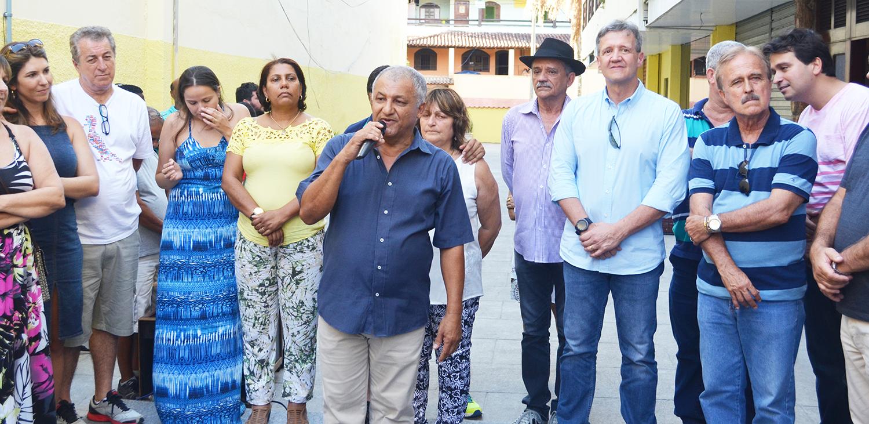 Deputado federal Lourival Gomes inaugura escritório em Sampaio Corrêa em Saquarema