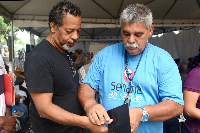 Serviços do Detran presente movimentam Semana da Saúde