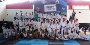 Arte marcial reúne dezenas de desportistas