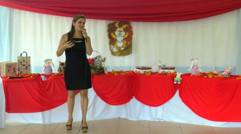 Reflexão e fé na Páscoa do Grupo Flor de Ipê em Macuco