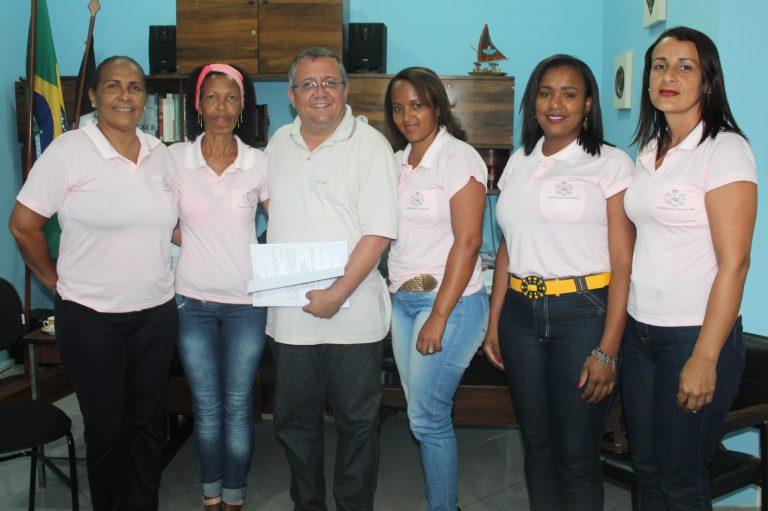 Prefeito recebe novos integrantes do Conselho Tutelar de Macuco