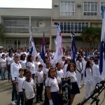 Desfile cívico marca as comemorações do '7 de Setembro' em Macuco
