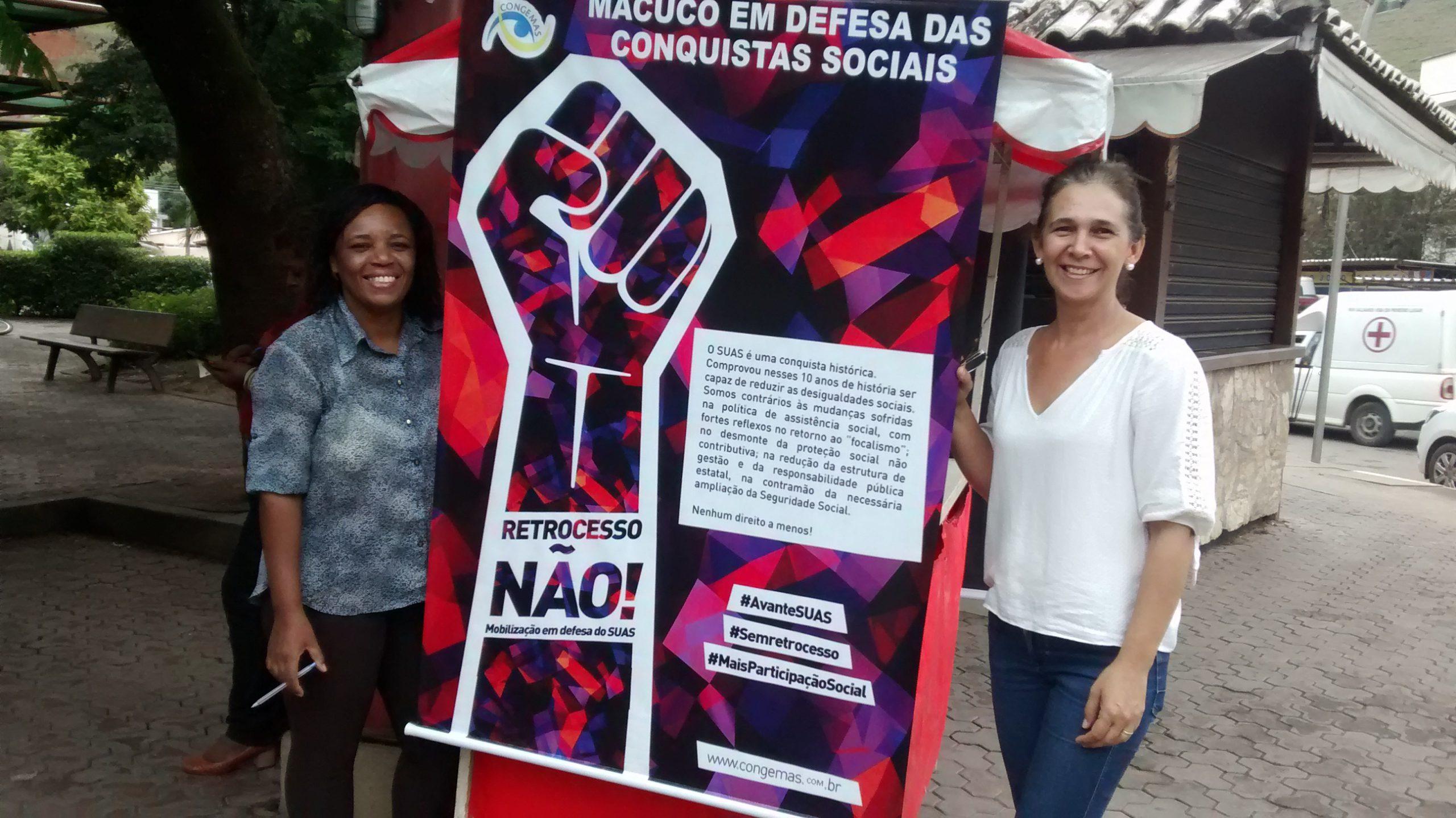 Macuquenses se mobilizam pelos direitos da Assistência Social
