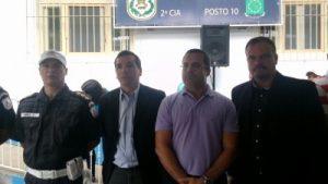 Posto de policiamento é inaugurado na Estrada Serramar