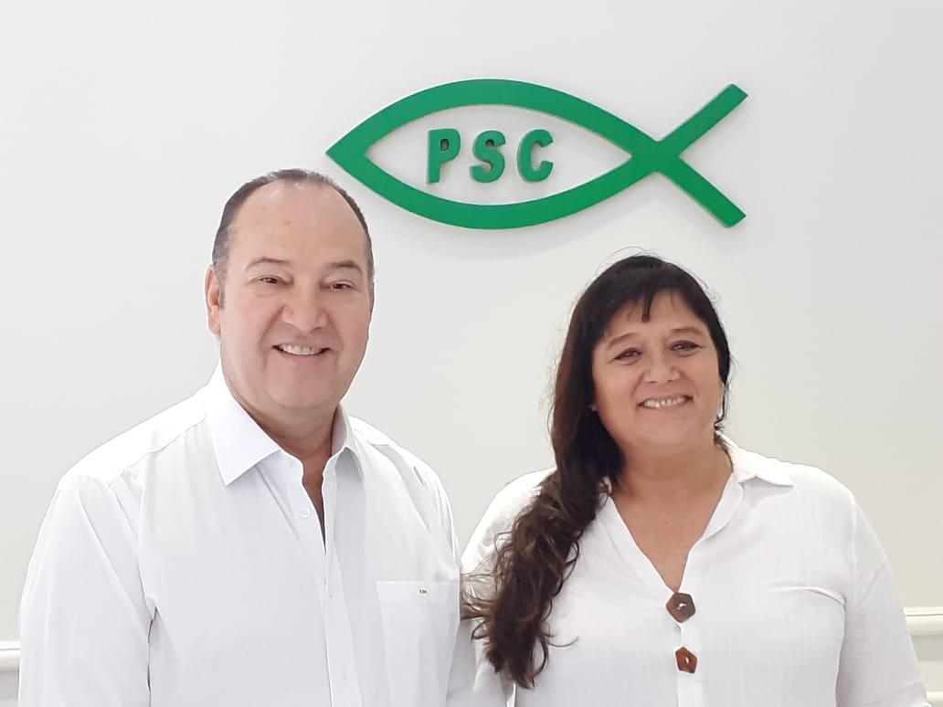 CLAUDIA SAMPAIO CONSOLIDA SUA LIDERANÇA NO PSC