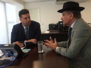 Deputado Federal Luiz Carlos Ramos se reúne com ministro do Esporte para incentivo ao esporte no Estado do Rio de Janeiro