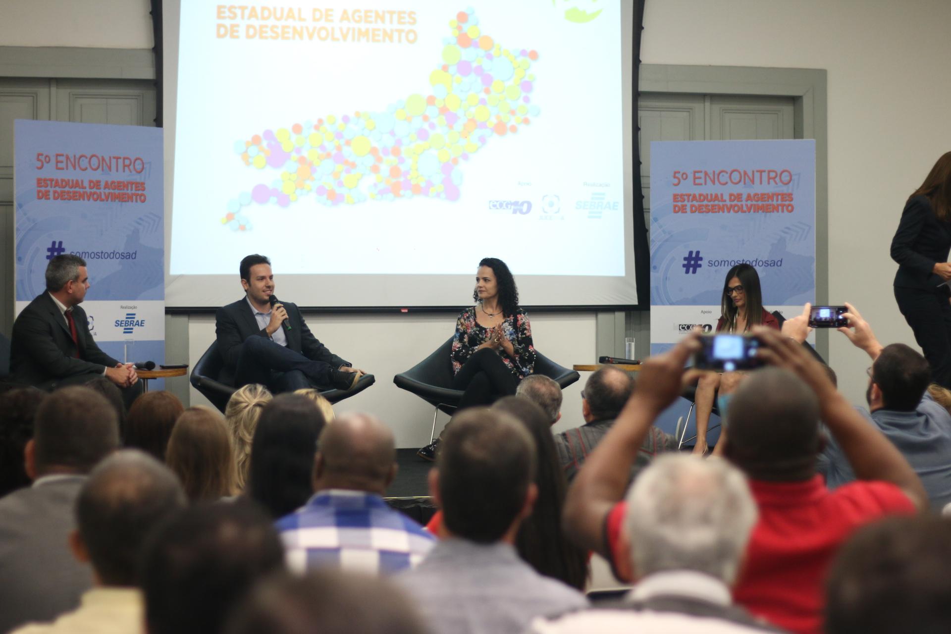 Representantes da Região Serrana vencem as três categorias do 2º Prêmio Sebrae Agentes de Desenvolvimento