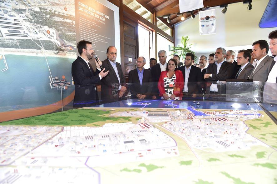 Pezão e Hartung assinam carta em busca de apoio do governo federal para implantação de ferrovia
