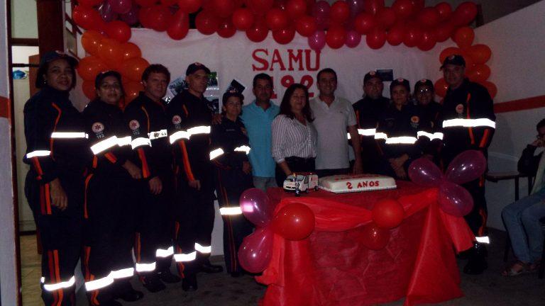 Samu de Cantagalo comemora dois anos e ultrapassa dois mil atendimentos