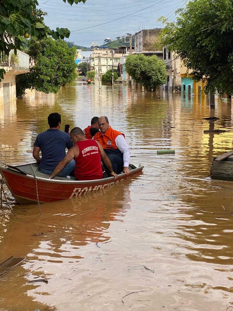 Witzel anuncia descentralização de R$ 23 milhões para municípios do Norte e Noroeste castigados pelas chuvas