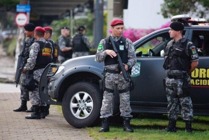 Estado recebe apoio da Força Nacional para reforçar segurança em ato na Alerj