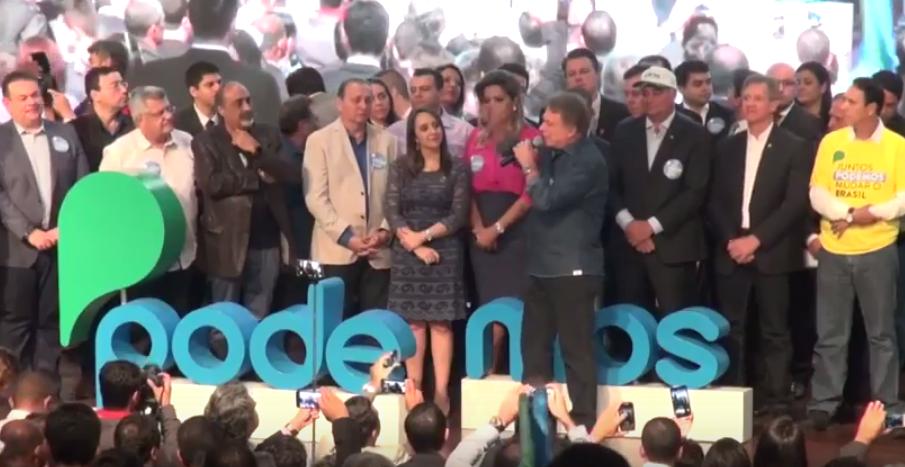 PTN vira Podemos, filia Romário e Marcelinho e anuncia Alvaro Dias como pré-candidato à Presidência