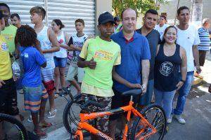 Prefeitura de Macuco realiza passeio ciclístico pelo dia do trabalhador