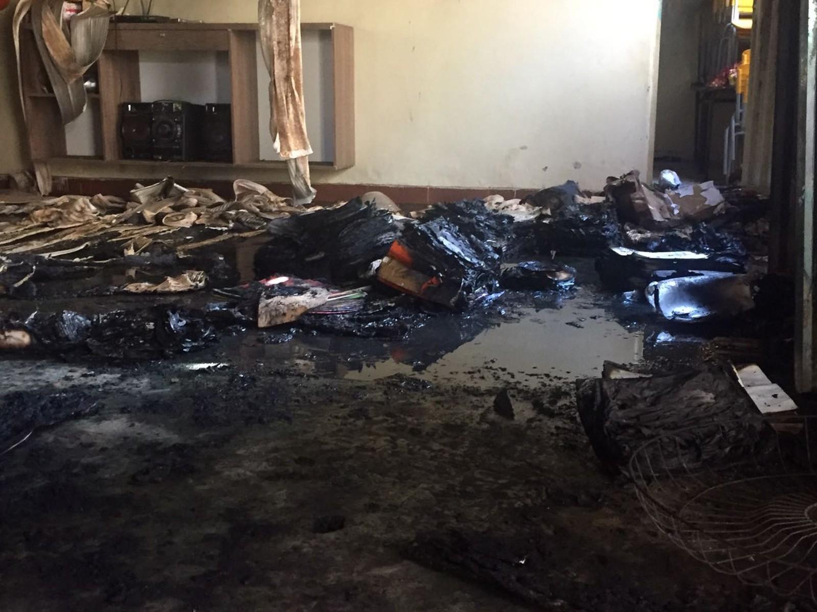 Segurança ateia fogo em pessoas em creche de Janaúba; 4 crianças e professora morrem