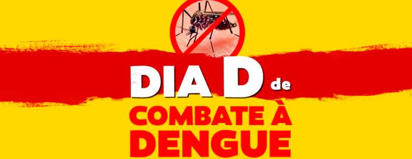"""""""DIA D"""" DE COMBATE AO AEDES AEGYPTI ACONTECE NO PRÓXIMO SÁBADO DIA 18 NO CENTRO DE CANTAGALO"""