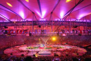 Festa de encerramento das Olimpíadas é realizada no Maracanã