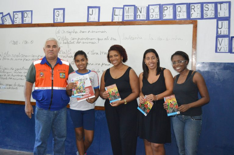 Defesa Civil de Cordeiro conscientiza estudantes sobre combate ao Aedes aegypti