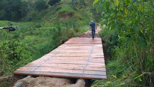 Agricultura de Cordeiro promove recuperação de ponte
