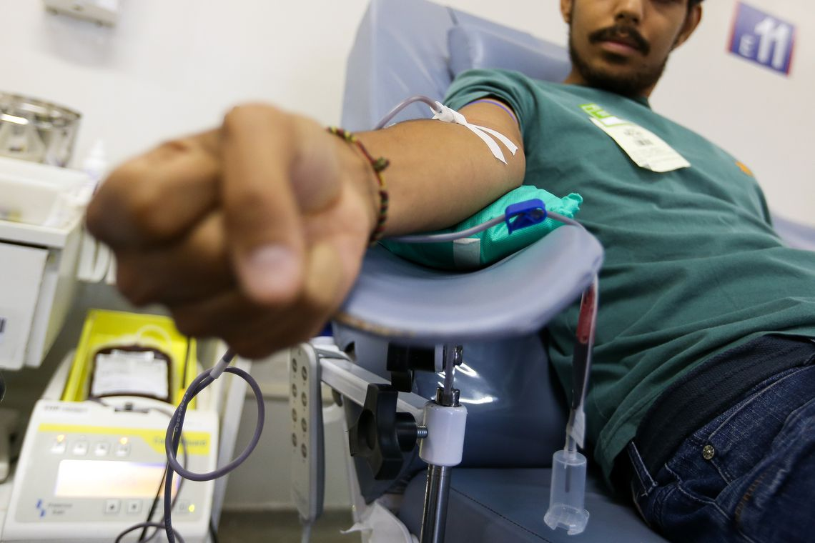 Ministério da Saúde reforça necessidade da doação de sangue no frio