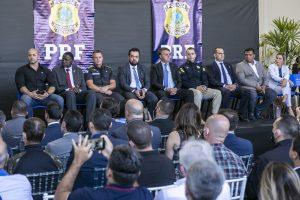 Governador em exercício participa da inauguração de novas instalações na Polícia Rodoviária Federal