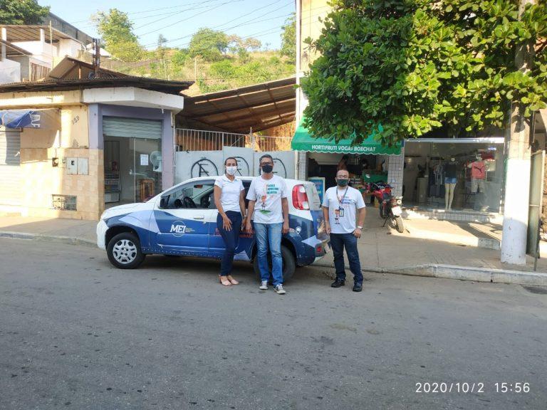 Equipe da sala do empreendedor de Macuco realiza permanente atendimento local