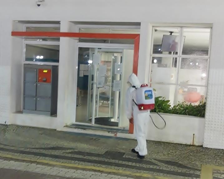 Covid-19: prefeitura volta a fazer higienização dos espaços públicos em Trajano e distritos