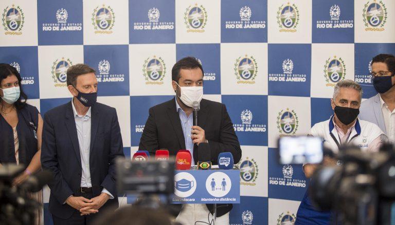 Governo do Estado e Prefeitura do Rio anunciam novas medidas para enfrentar a pandemia