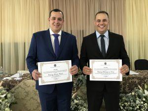 Prefeito Rodrigo Viana, vice Matias Mendes e vereadores eleitos são diplomados em Trajano de Moraes
