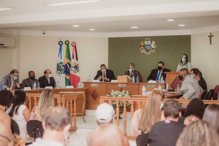 Em cerimônia restrita, Vereadores tomam posse em Macuco