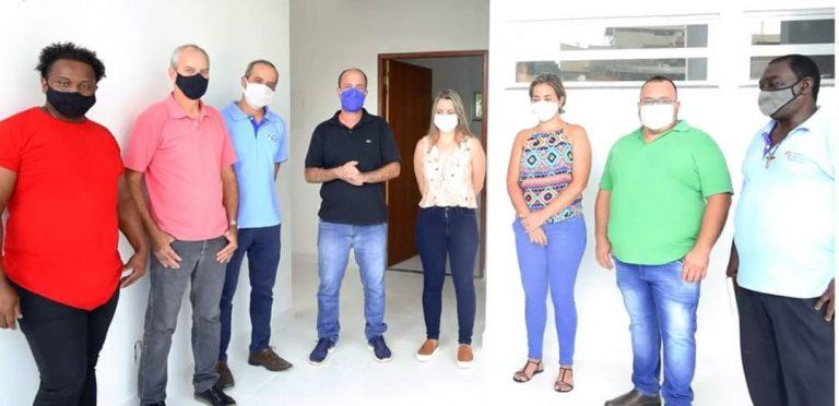 Prefeito realiza inspeção em instalações de saúde de Macuco