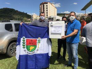Trajano de Moraes recebe e aplica as primeiras doses de vacina contra a Covid-19