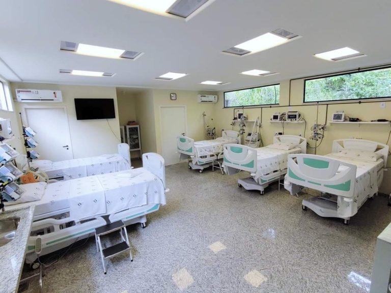 Hospital São Sebastião em São Sebastião do Alto inaugura UTI Covid