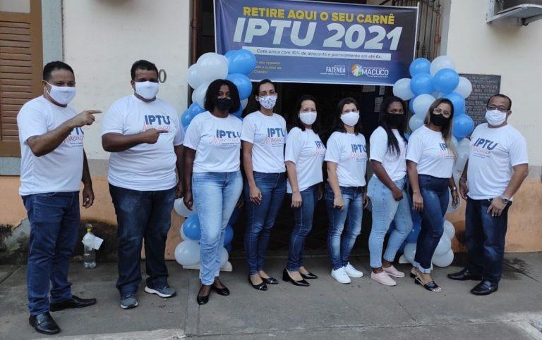 Macuco inicia entrega dos carnês do IPTU-2021
